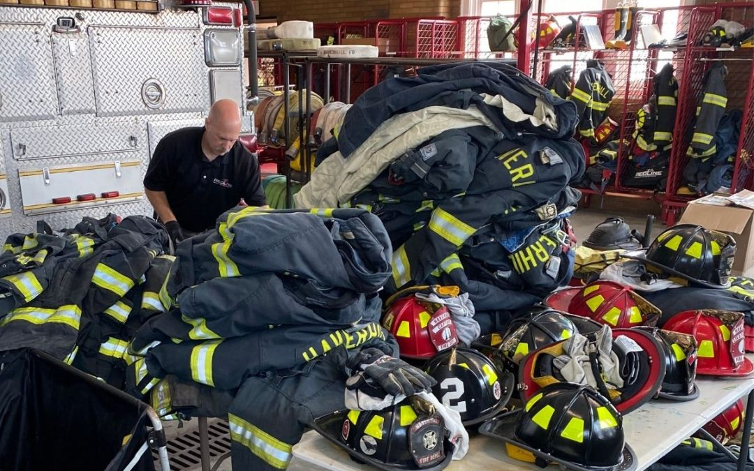 How often should turnout gear be washed?